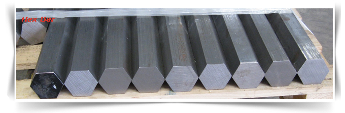 SAE 1045 Carbon Steel Hex Bar