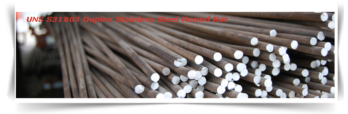 UNS S31803 Duplex Stainless Steel Round Bar